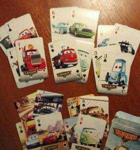 Карты игральные Тачки