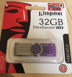 Флешка Kingston на 32 GB