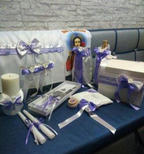 Счастливые свадебные аксессуары