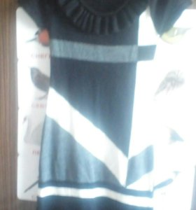 Платье теплое новое