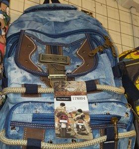 Рюкзак джинсовый Новый