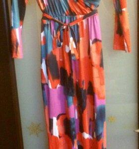Платье в пол.р46-48