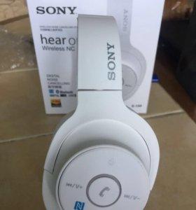 Новые беспроводные Bluetooth наушники Sony