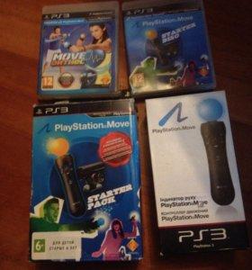 PlayStation move starter pack + контроллер и игра