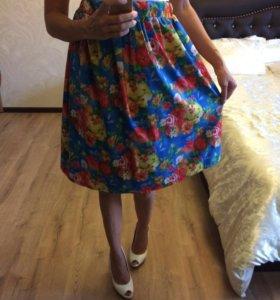 Потрясающая летняя яркая юбка