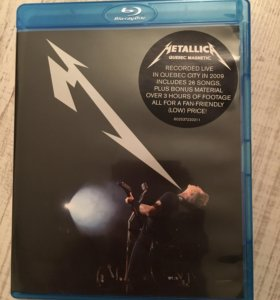 Blu-ray диск Metallica Quebec magnetic