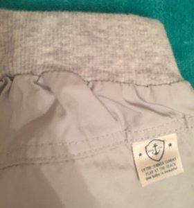 Новые фирменные брюки на малыша
