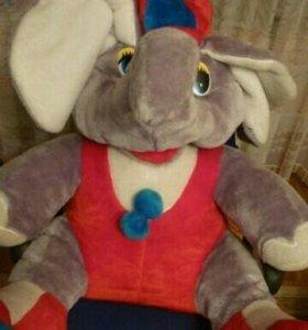 Мягкая игрушка слоник