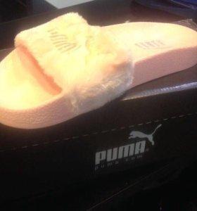 Шлепанцы (тапочки) Puma новые