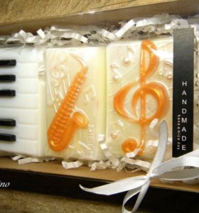 Музыкальное мыло