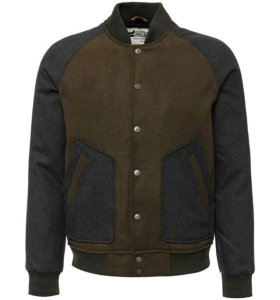 Бомбер клубная куртка