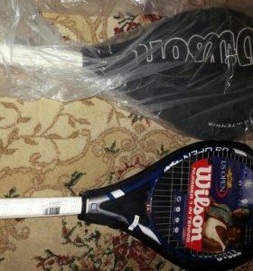 Теннисные ракетки Wilson.