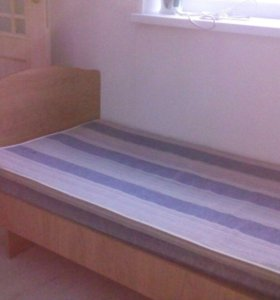 Кровать односпальная + матрац