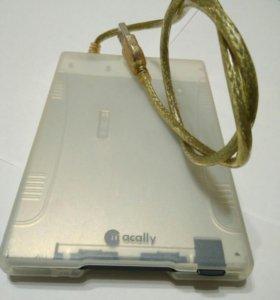 """USB дисковод FDD 3'5"""" 1.44Mb"""