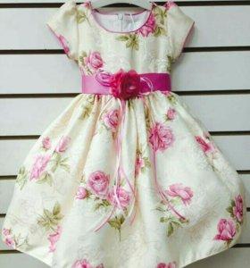 Платье 98/104 рост. Новое