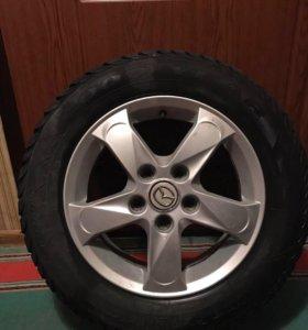 Зимние колёса для Мазда 3 R15