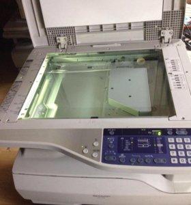 Мфу принтер sharp at 5316 A3 a4 лазер. цена за2 шт