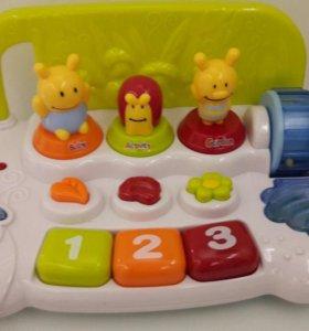 Музыкальная игрушка 0+ Baby Activity Garden