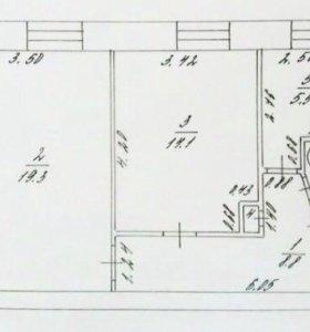 2-к квартира, 51,2 м, 2/5 эт, ул. Борисова 10