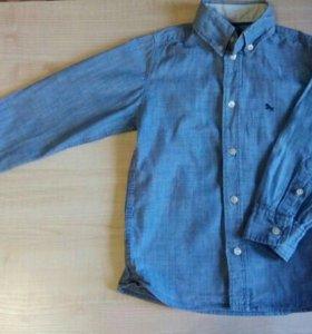 джинсовая рубашка LOGG 5-6 лет 116 см