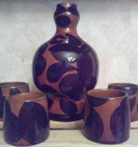 Штоф и 4-е стакана, СССР