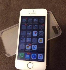 iPhone 5s, gold 64 Gb.