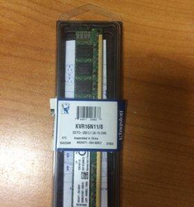 DDR 3 8GB KINGSTON 1600 MHz
