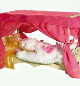 Кроватка для кукол Барби, Винкс, Монстер хай