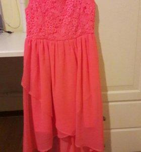 Летнее платье на девочку Lindex