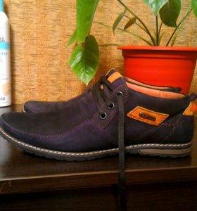 Мужские туфли Cayman(натуральная кожа)Р.39