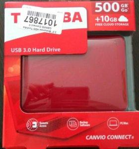Внешний жесткий диск Toshiba (500гб)