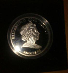 Монета из серебра