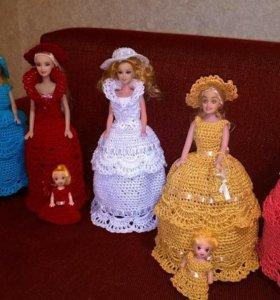 Связанная одежда для Вашей Барби