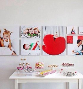 🖼Картина-коллаж из семейных снимков