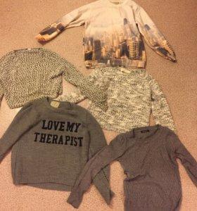 Тёплые вещи пакетом для девушки
