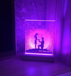 Светильники- ночники на заказ