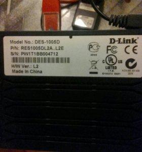 Коммуникатор d-link des-1005D