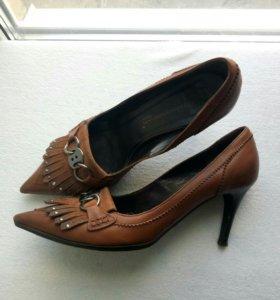 Туфли кожанные, итальянские