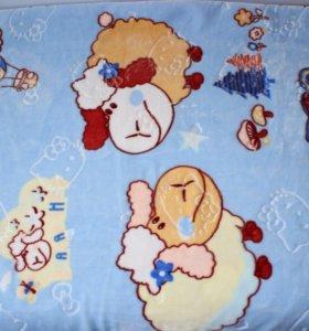 Плед одеяло в кроватку