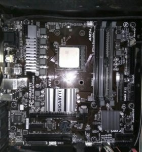 Процессор Amd fx8320e, материнская плата Gigabyte