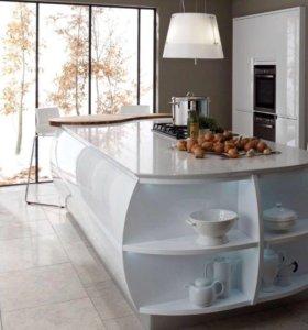 Белоснежная кухня из эмали 🎁
