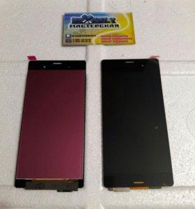 Дисплей на Sony xPeria Z3 с тачскрином