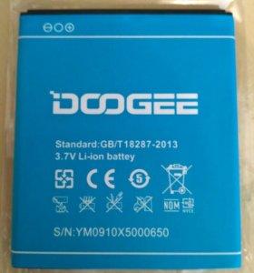Аккумулятор для Doogie X5 / X5 pro