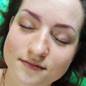 Перманентный макияж татуаж Микроблейдинг