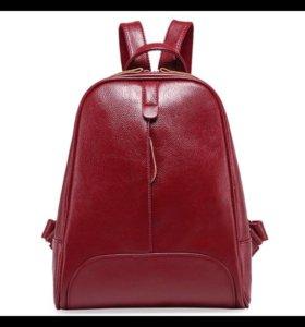 Натуральная кожа рюкзак