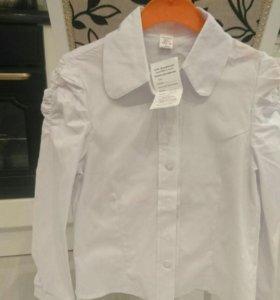 Новые детские блузки
