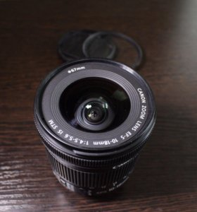 Canon 10-18mm IS