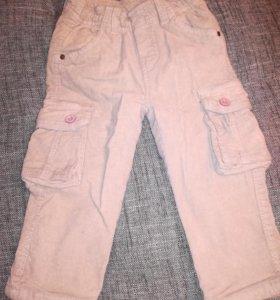 Новые Джинсы штаны детские вельвет