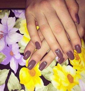 Наращивание ногтей ,шеллак