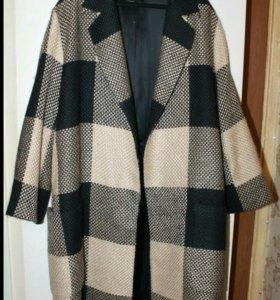 Пальто Zara,oversize, S-M
